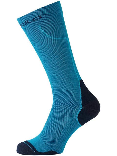 Odlo Ceramiwarm Socks long blue jewel-diving navy